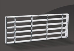 Factory Free sample Steel Grating For Building Material -